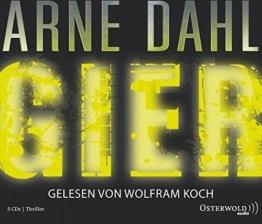 Arne Dahl: Gier (6 CDs) (Opcop-Gruppe, Band 1) -