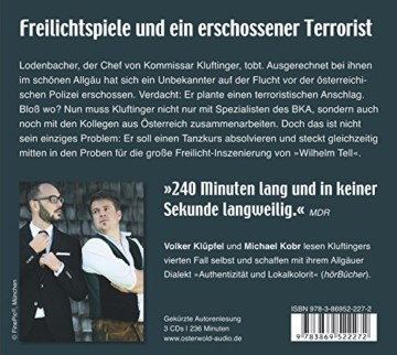 Laienspiel: Kluftingers vierter Fall: 3 CDs (Ein Kluftinger-Krimi, Band 4) -