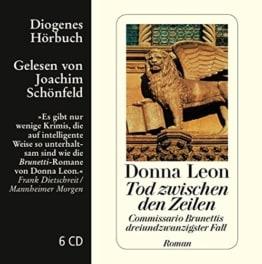 Tod zwischen den Zeilen: Commissario Brunettis dreiundzwanzigster Fall (Diogenes Hörbuch) -