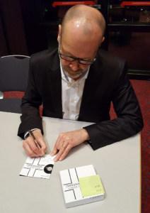 Simon Beckett signiert Hörbuch