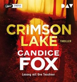 Crimson Lake: Ungekürzte Lesung mit Uve Teschner (1 mp3-CD) - 1
