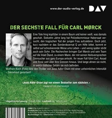 Verheißung. Der Grenzenlose: Der sechste Fall für Carl Mørck. Ungekürzte Lesung mit Wolfram Koch (2 mp3-CDs) - 2