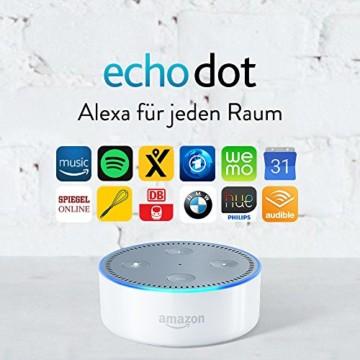 Amazon Echo Dot (2. Generation), Weiß - 2