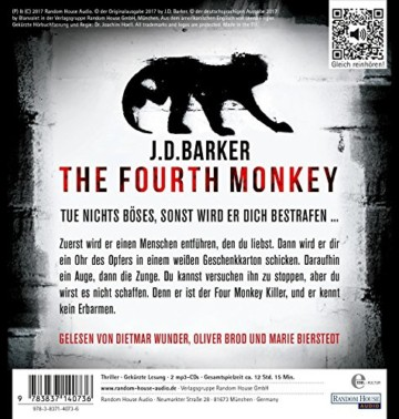 The Fourth Monkey - Geboren, um zu töten - 2