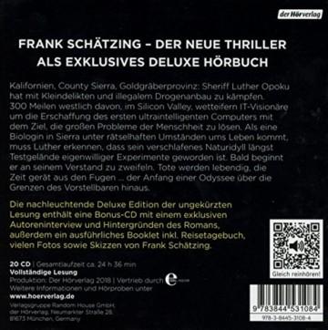Die Tyrannei des Schmetterlings: Die vollständige Lesung als nachleuchtende Deluxe Edition mit exklusivem Bonusmaterial von Frank Schätzing - 2