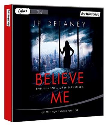 Believe Me  - Spiel Dein Spiel. Ich spiel es besser.: Thriller - 3
