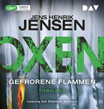 Oxen. Gefrorene Flammen: Ungekürzte Lesung mit Dietmar Wunder (2 mp3-CDs) - 1