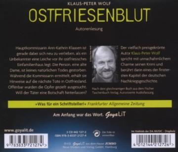 Ostfriesenblut: Autorenlesung (Ostfriesenkrimi) - 2