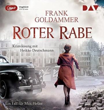 Roter Rabe. Ein Fall für Max Heller: Ungekürzte Lesung mit Heikko Deutschmann (1 mp3-CD) - 1