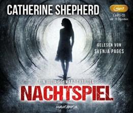 Nachtspiel - Ein Fall für Julia Schwarz (ungekürzte Lesung auf 1 MP3-CD mit 580 Minuten) - 1