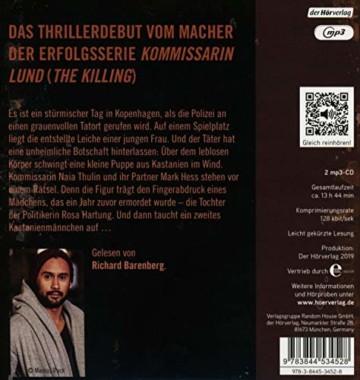 Der Kastanienmann: Thriller - 2