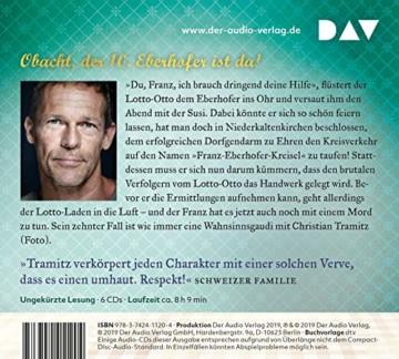 Guglhupfgeschwader: Der zehnte Fall für den Eberhofer. Ein Provinzkrimi. Ungekürzte Lesung mit Christian Tramitz (6 CDs) - 2