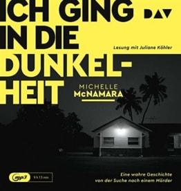 Ich ging in die Dunkelheit. Eine wahre Geschichte von der Suche nach einem Mörder: Lesung mit Juliane Köhler (1 mp3 CD) - 1