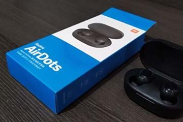 Original Xiaomi Redmi AirDots Bluetooth-Kopfhörer, Bluetooth V5.0, Stereo-Headset mit magnetischer Ladestation - 3