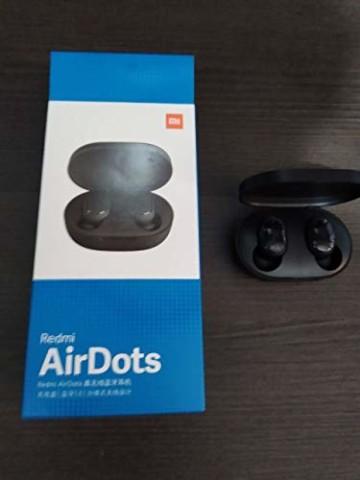 Original Xiaomi Redmi AirDots Bluetooth-Kopfhörer, Bluetooth V5.0, Stereo-Headset mit magnetischer Ladestation - 4