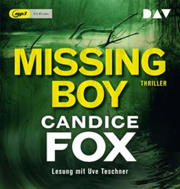 Missing Boy: Lesung mit Uve Teschner (1 mp3-CD) - 1