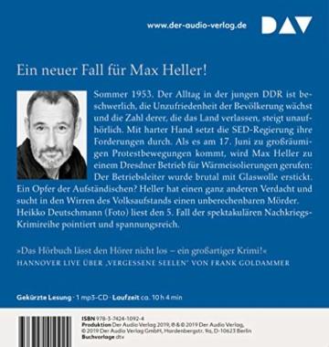 Juni 53. Ein Fall für Max Heller: Lesung mit Heikko Deutschmann (1 mp3-CD) - 2
