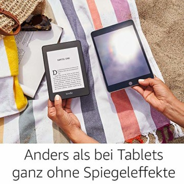 Kindle Paperwhite, wasserfest, 6Zoll (15cm) großes hochauflösendes Display, 8GB – mit Spezialangeboten - Schwarz - 6