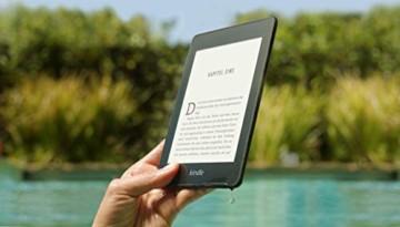 Kindle Paperwhite, wasserfest, 6Zoll (15cm) großes hochauflösendes Display, 8GB – mit Spezialangeboten - Schwarz - 9