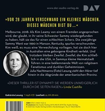 Das andere Mädchen: Lesung mit Julia Nachtmann (1 mp3-CD) - 2