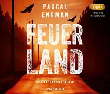 Feuerland (Lesung auf 2 MP3-CDs) (Vanessa Frank-Thriller) - 1