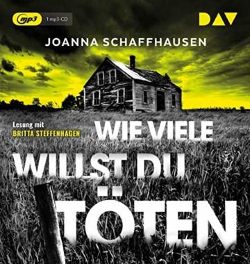 Wie viele willst du töten: Lesung mit Britta Steffenhagen (1 mp3-CD) - 1