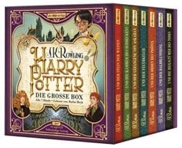 Harry Potter. Die große Box zum Jubiläum. Alle 7 Bände.: Gelesen von Rufus Beck - 1