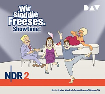 Wir sind die Freeses. Showtime!: Hörspiel (3 CDs) - 1