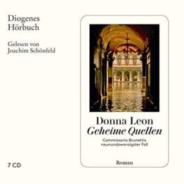 Geheime Quellen: Commissario Brunettis neunundzwanzigster Fall (Diogenes Hörbuch) - 1