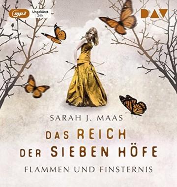 Das Reich der sieben Höfe – Teil 2: Flammen und Finsternis: Ungekürzte Lesung mit Ann Vielhaben und Simon Jäger (2 mp3-CDs) - 1