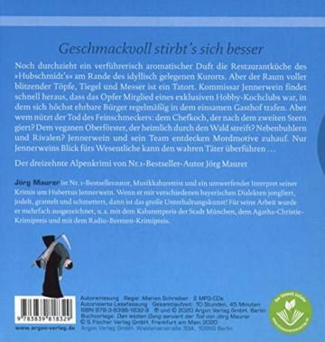 Den letzten Gang serviert der Tod: Alpenkrimi (Kommissar Jennerwein ermittelt, Band 13) - 3