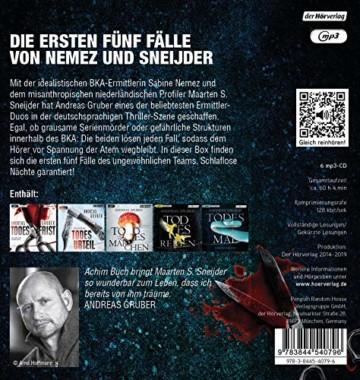 Todes-Box. Die ersten fünf Fälle von Nemez und Sneijder: Todesfrist - Todesurteil - Todesmärchen - Todesreigen - Todesmal - 2