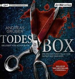 Todes-Box. Die ersten fünf Fälle von Nemez und Sneijder: Todesfrist - Todesurteil - Todesmärchen - Todesreigen - Todesmal - 1