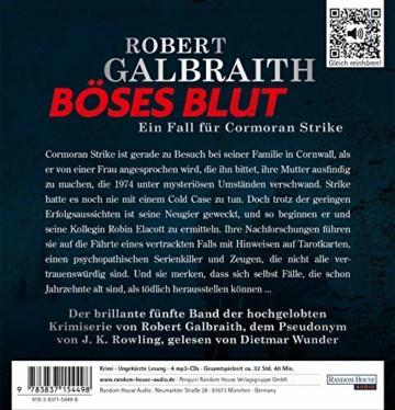 Böses Blut: Ein Fall für Cormoran Strike (Die Cormoran-Strike-Reihe, Band 5) - 2