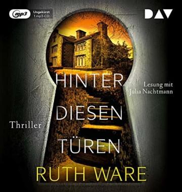 Hinter diesen Türen: Ungekürzte Lesung mit Julia Nachtmann (1 mp3-CD) (Ruth Ware) - 1