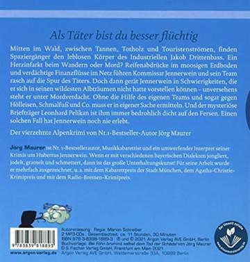 Bei Föhn brummt selbst dem Tod der Schädel: Alpenkrimi (Kommissar Jennerwein ermittelt, Band 14) - 2