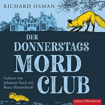 Der Donnerstagsmordclub: 2 CDs (Die Mordclub-Serie, Band 1) - 1